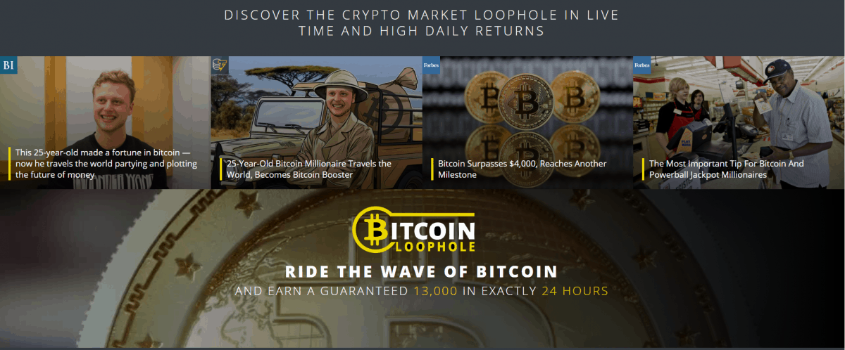 Bitcoin Loophole – The Official 2019 Site